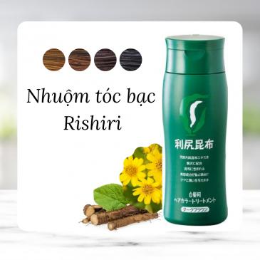 Nhuộm tóc bạc Rishiri Treatment